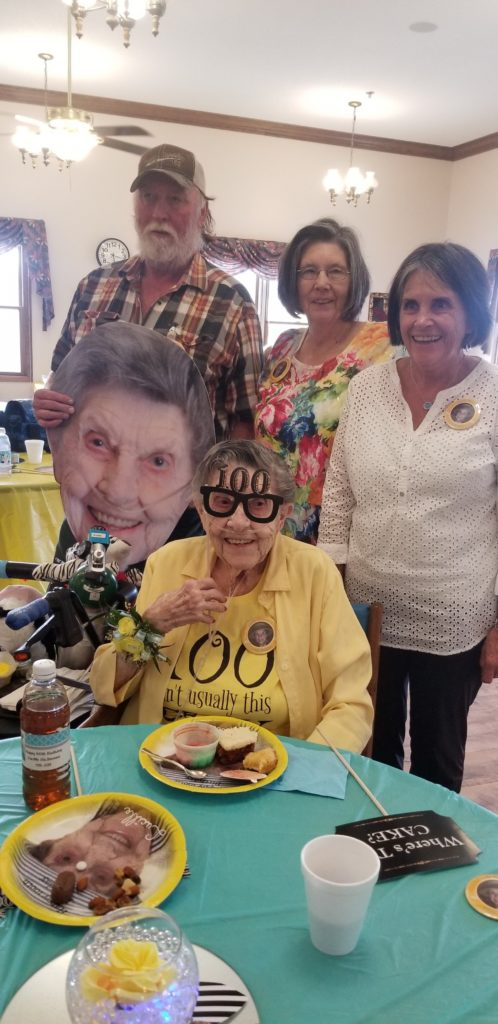 Crawford woman celebrates milestone birthday