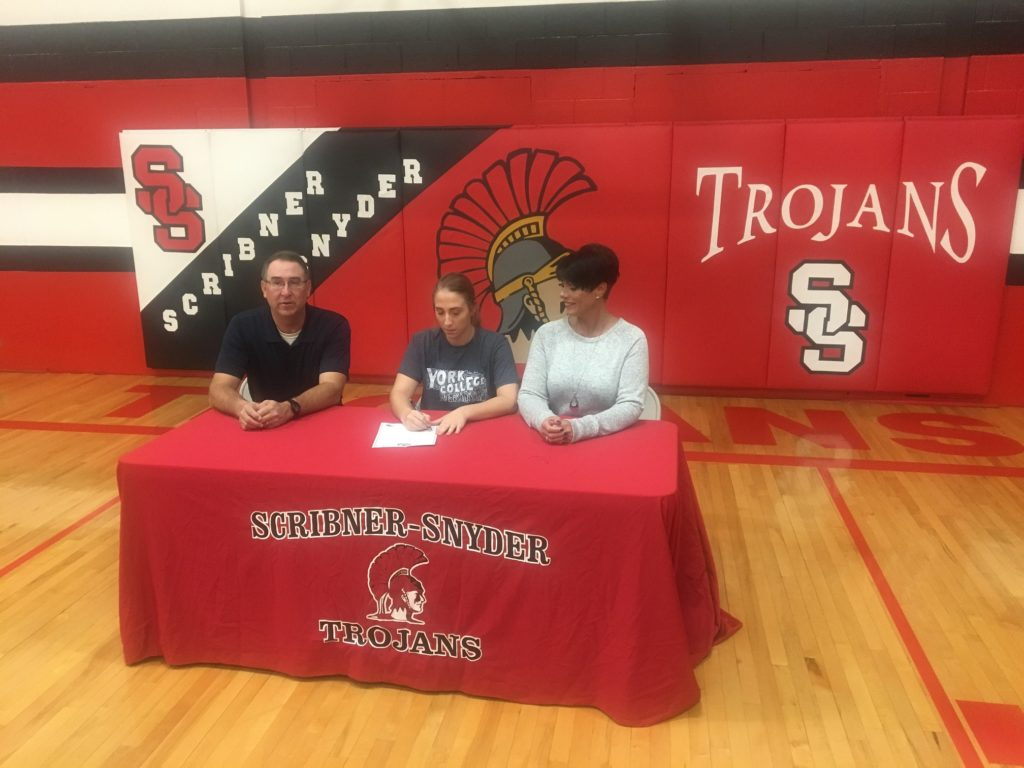 (AUDIO) Logan View/Scribner-Snyder's Peters heading to York for Softball