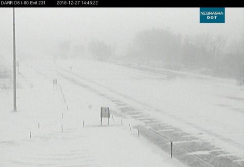 I-80 Westbound from Grand Island to North Platte is closed