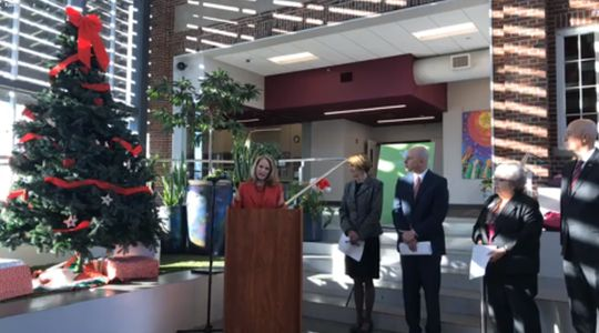 Gov. Ricketts, First Lady Shore Celebrate Major Child Welfare Grant, Bring Up Nebraska Successes