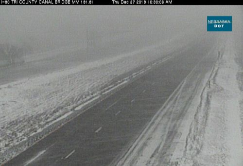 I-80 & Highway 30 eastbound & westbound closed from Lexington to North Platte