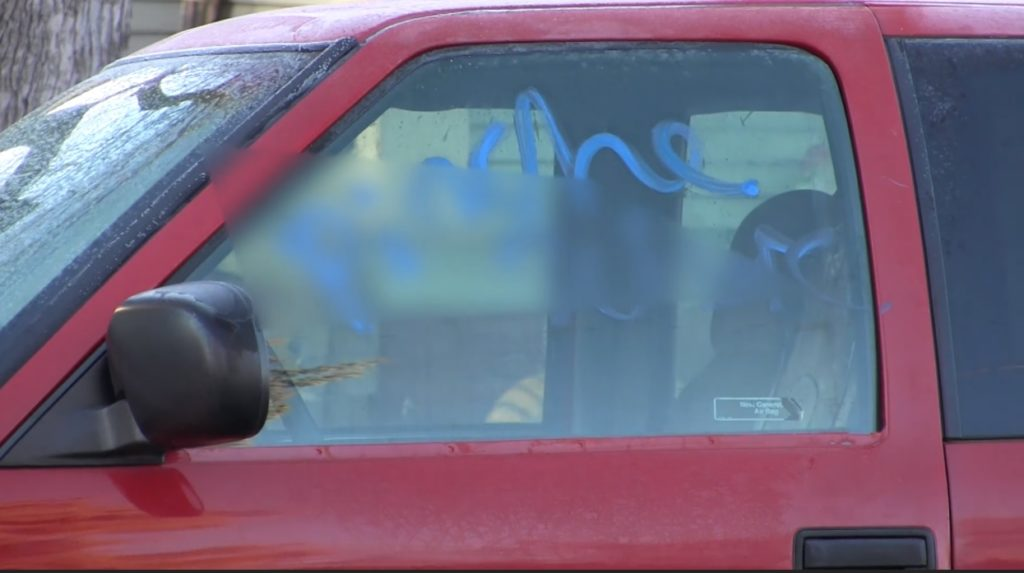 Scottsbluff Police investigating rash of defaced cars