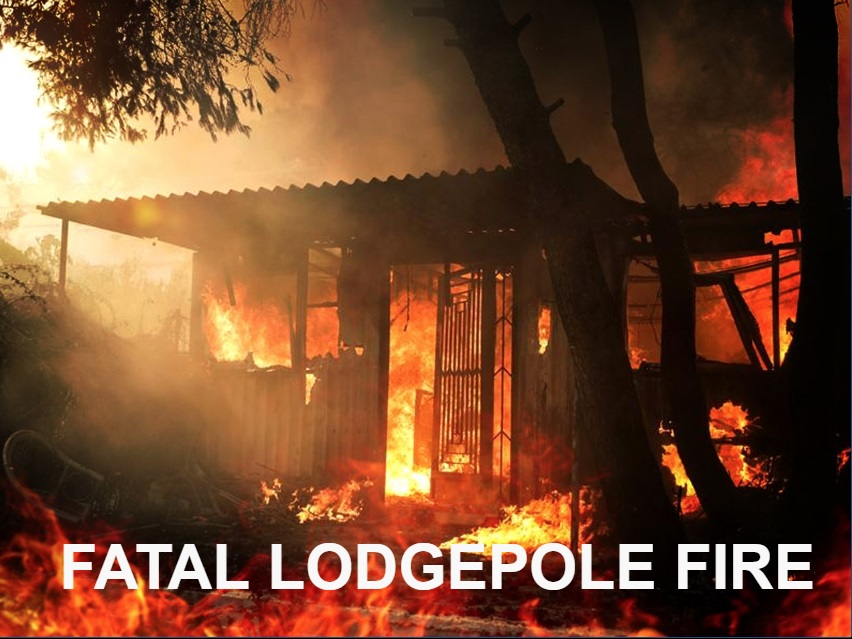 Lodgepole woman killed in fire; space heater ID'd as cause