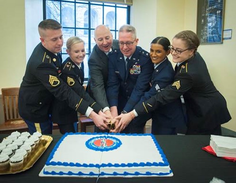 Gov. Ricketts, Nebraska National Guard Celebrate National Guard's 382nd Birthday