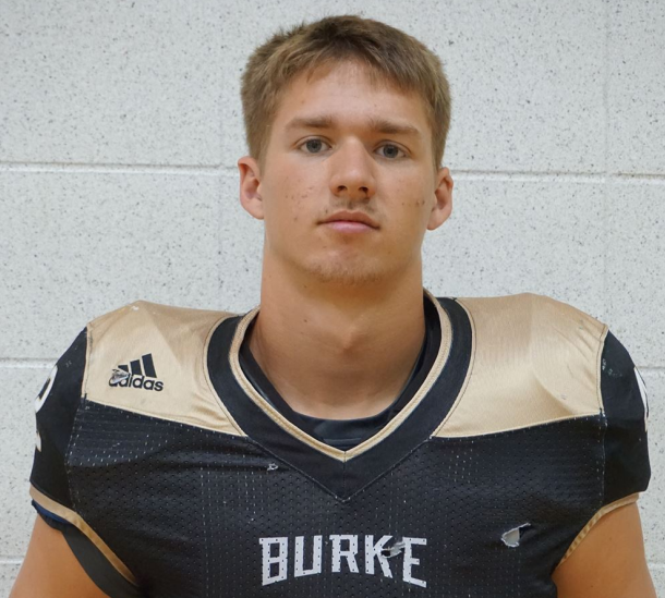 Burke High School's Henrich Named Gatorade Nebraska Football Player of the Year
