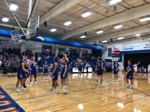 (Audio) Seward boys offense flex's muscle, girls fall for first time