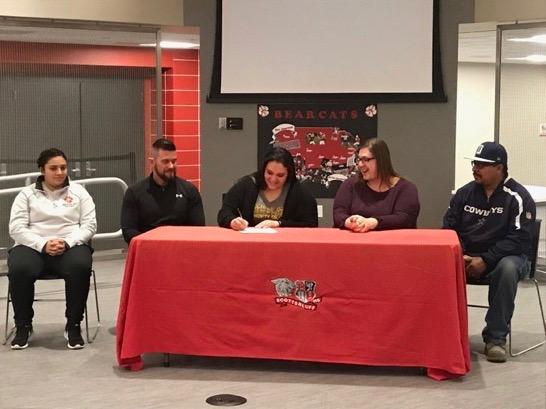 (Listen) Scottsbluff's Salazar signs for softball at North Platte C.C.