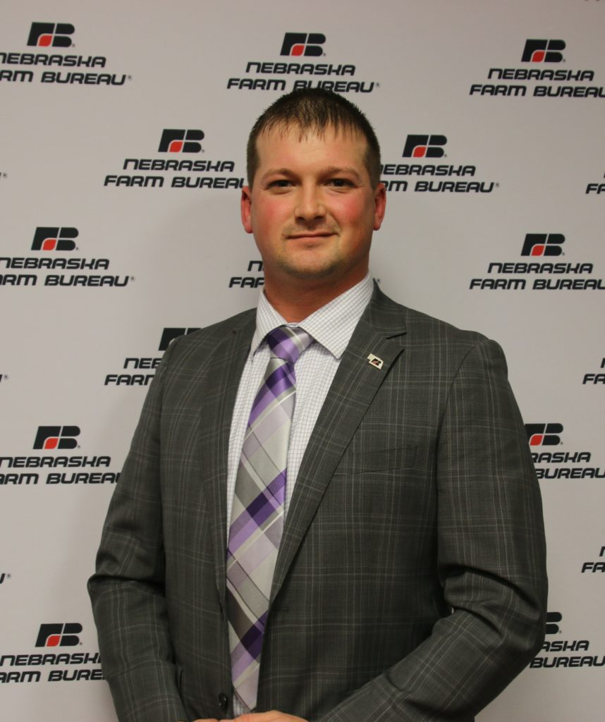 Jason Perdue, Takes Home Nebraska Farm Bureau's Discussion Meet Competition
