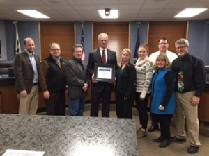 Lt. Gov. Foley honors Kearney's economic growth