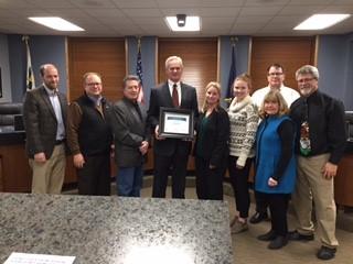 Lt. Gov. Foley honors Kearney's economic growth