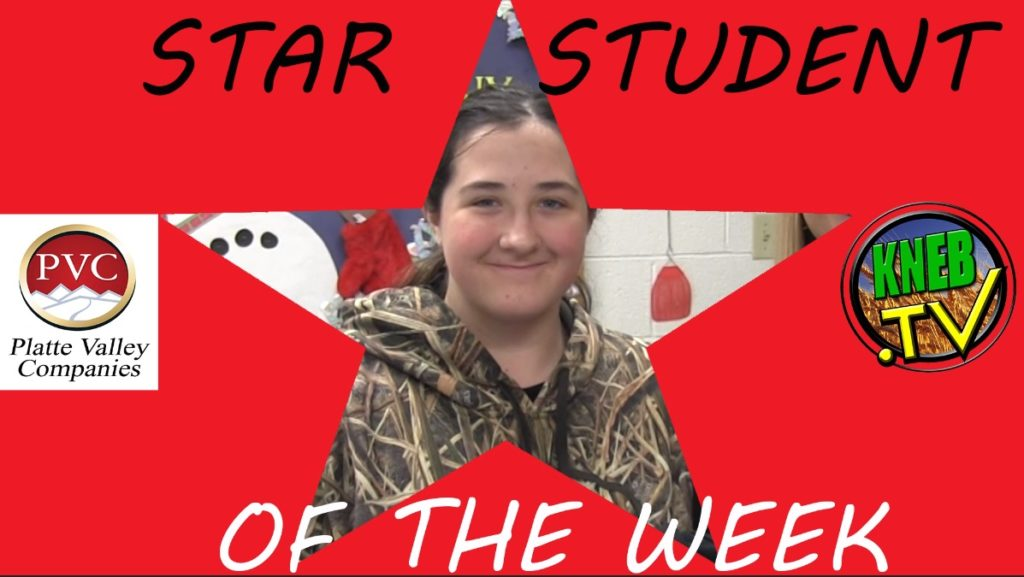 Banner County freshman Madde Hill named PVC Star Student of the Week