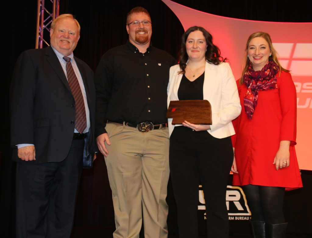 Ryan and Amy Musgrave Take Home Nebraska Farm Bureau's  Excellence in Agriculture Award