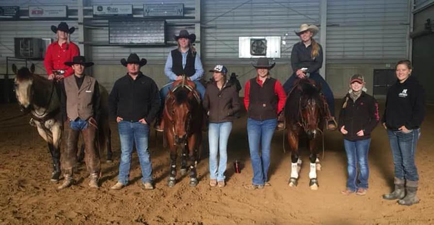 Six Aggies ride at WinterFest