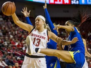 Huskers Crash Past Spartans