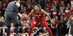 Husker Men run past Okie State in Sioux Falls