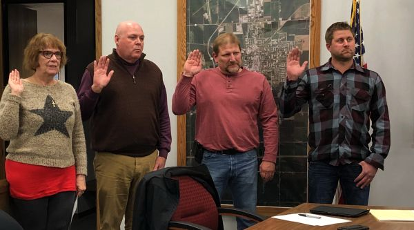 Four York City Council Members sworn into Office