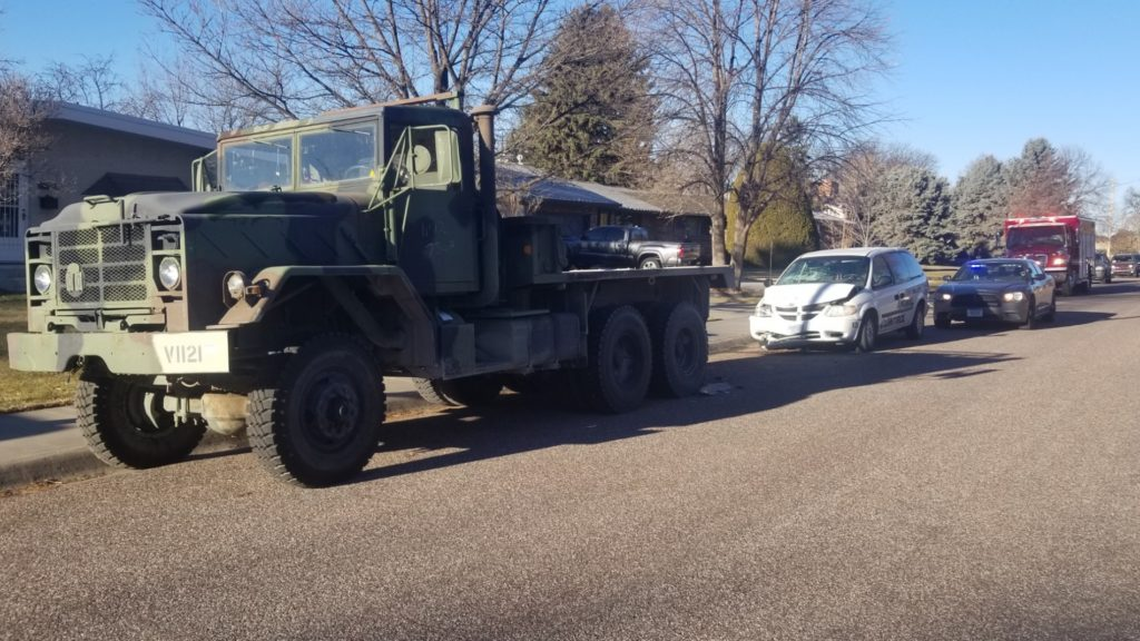 Scottsbluff Animal Control Officer shaken up following Monday morning accident