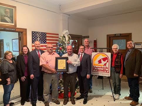 Gov. Ricketts Announces Sherman County as Newest Nebraska Livestock Friendly County