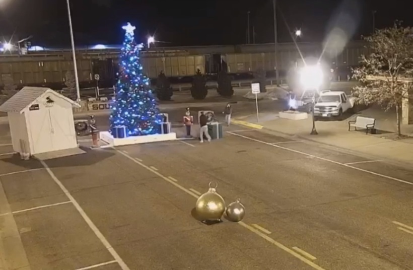 Sidney Police looking for Christmas vandals