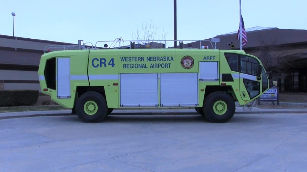 WNRA rolls out new fire truck