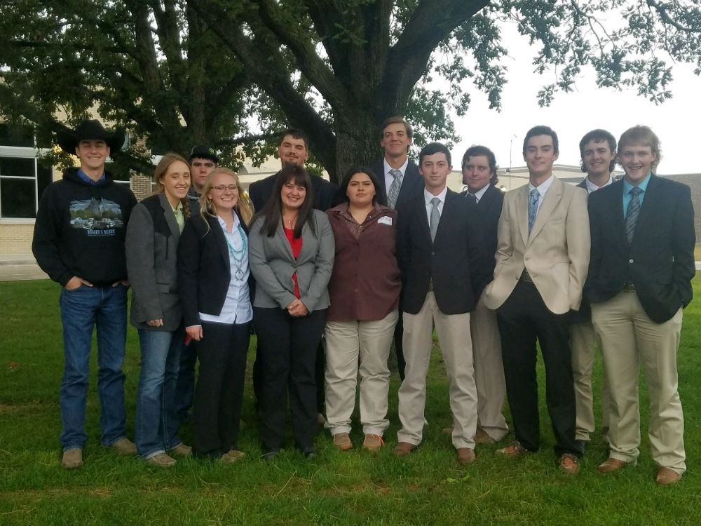 EWC Livestock Judging Team has successful fall season