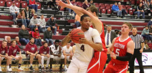 Mbang double-doubles as CSC men roll past Western