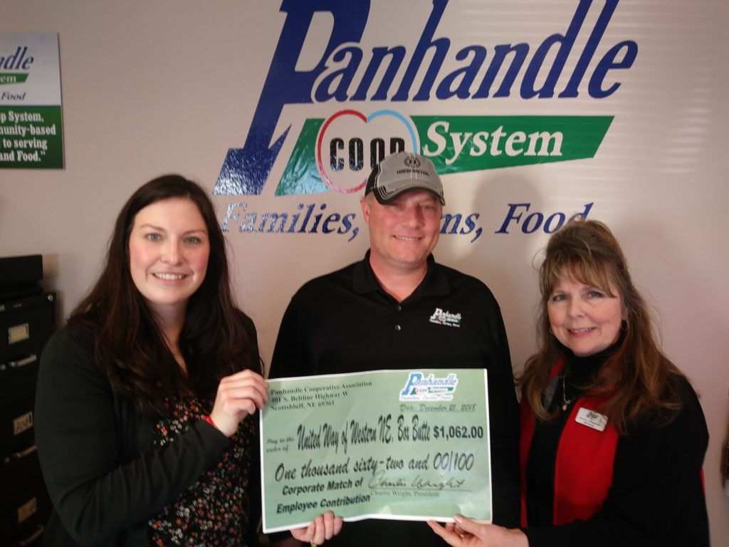 Panhandle COOP Matches Employee Donations to United Way