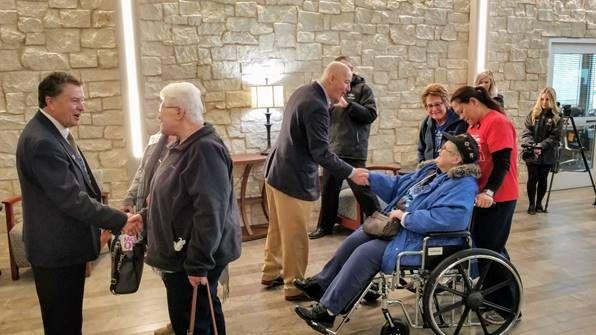 Veterans Move into Central Nebraska Veterans' Home