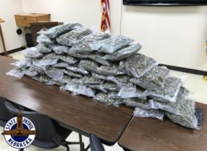 Troopers Find 50 LBs of Marijuana in I-80 Traffic Stop