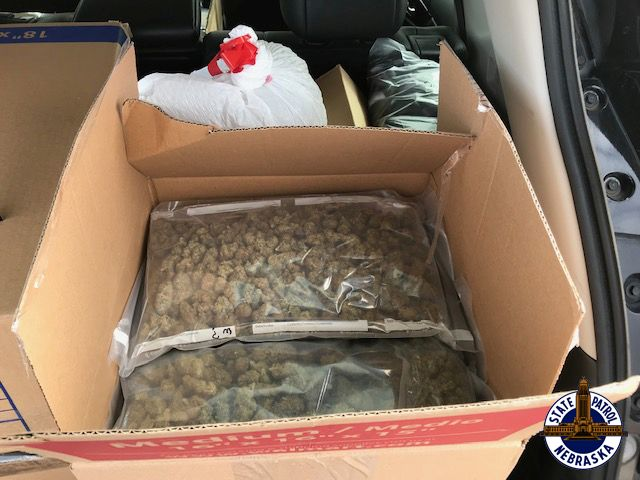 Marijuana, Hash, Meth Found in Weekend Traffic Stops across State