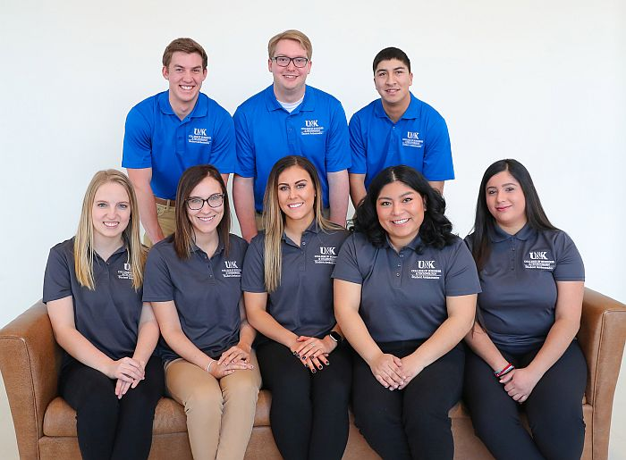 Student ambassadors spread word about UNK, College of Business