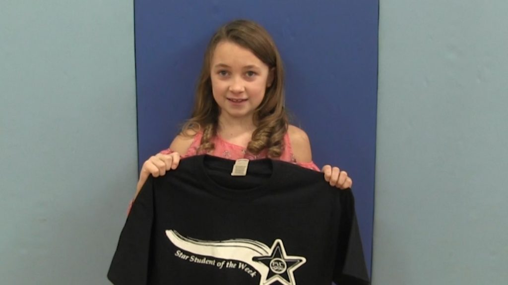 Cara Schlothauer named PVC Star Student of the Week