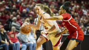 Huskers Fall in Tight Battle with Scarlet Knights