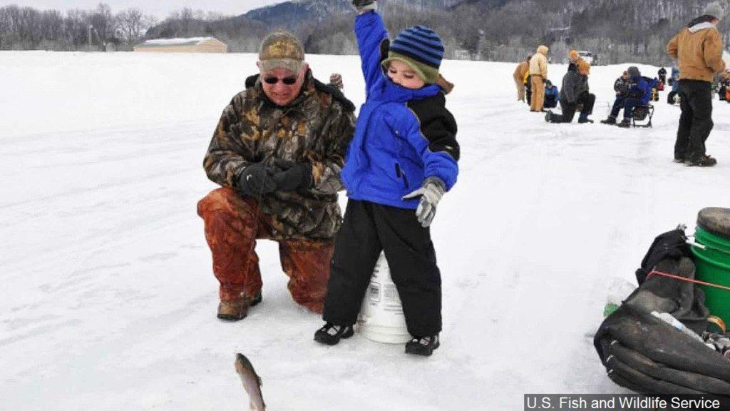 Precautions recommend for Lake Minatare ice anglers