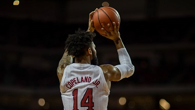 Husker Men's home-winning streak snapped in loss to Michigan State