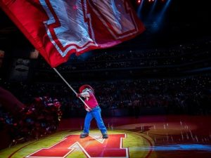 Huskers Put Win Streak On Line Against Spartans