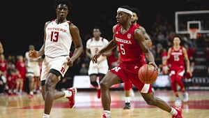 Husker Men upset at Rutgers