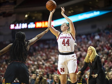 Husker Women suffer setback in home loss to Maryland
