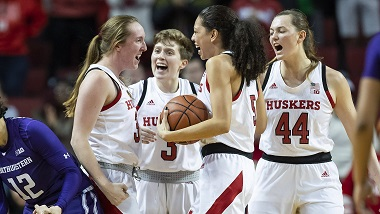 Husker Women blow past Purdue on the road