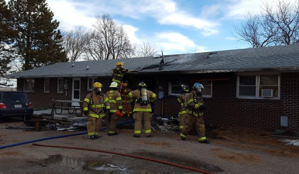 Apartment fire north of Lexington ruled accidental