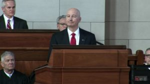 Ricketts addresses legislature, discusses budget, tax relief, state growth