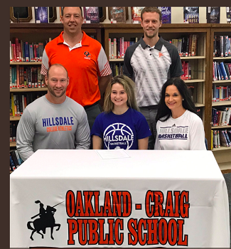 (AUDIO) Oakland-Craig's Nelson signs with Hillsdale