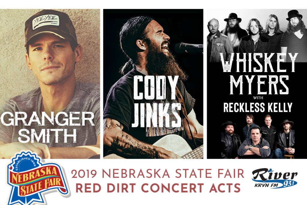 Red Dirt lineup announced for Nebraska State Fair!