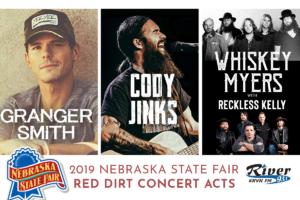 Red Dirt lineup announced for Nebraska State Fair!