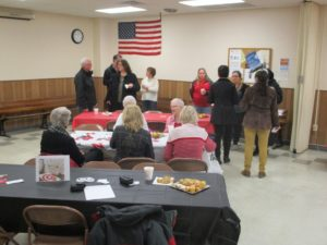 (Audio)  Local TeamMates Coordinator Hosts Chamber Coffee In West Point