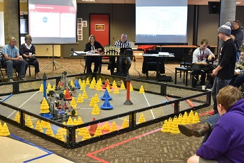 Northeast to host qualifying event for robotics world championship