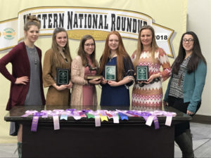4-H horse judgers earn reserve champion