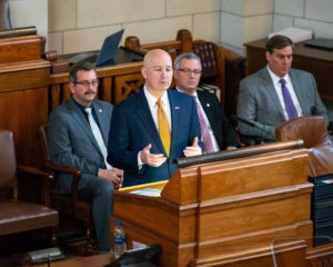 (Audio) Governor Focuses On Property Tax And Frugal Government In State of the State