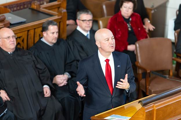 Ricketts to continue focus on growing the economy, says Nebraskans deserve great opportunities