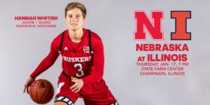 Huskers Hunt for Road Win Against Fighting Illini